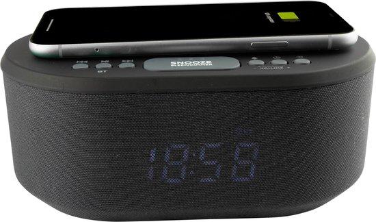 AIC 18BT wekkerradio met draadloze telefoonoplader