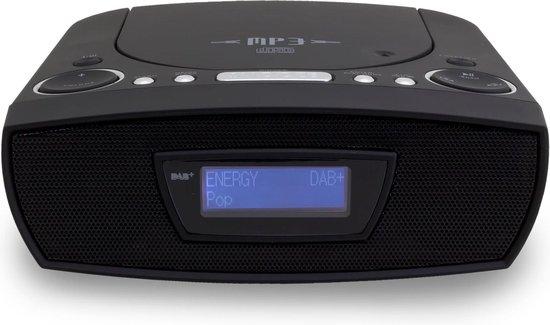Soundmaster URD480SW Wekkerradio met cd speler en usb aansluiting