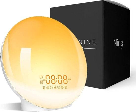 Living Nine Wekker met licht en natuurgeluiden