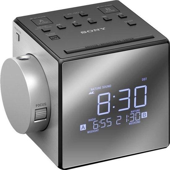 Sony ICF-C1PJ Wekker met natuurgeluiden zonder licht