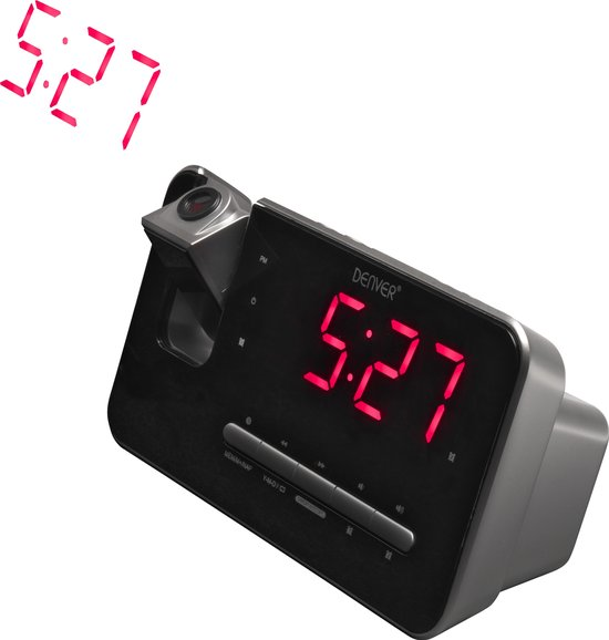 Denver CRP-618 Wekker Op Batterijen Die Niet Tikt